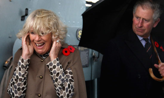 The heir to the throne has since been back with the Duchess of Cornwall.