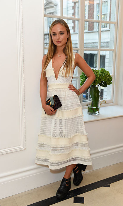 Lady Amelia Windsor. Copyright: Burberry.