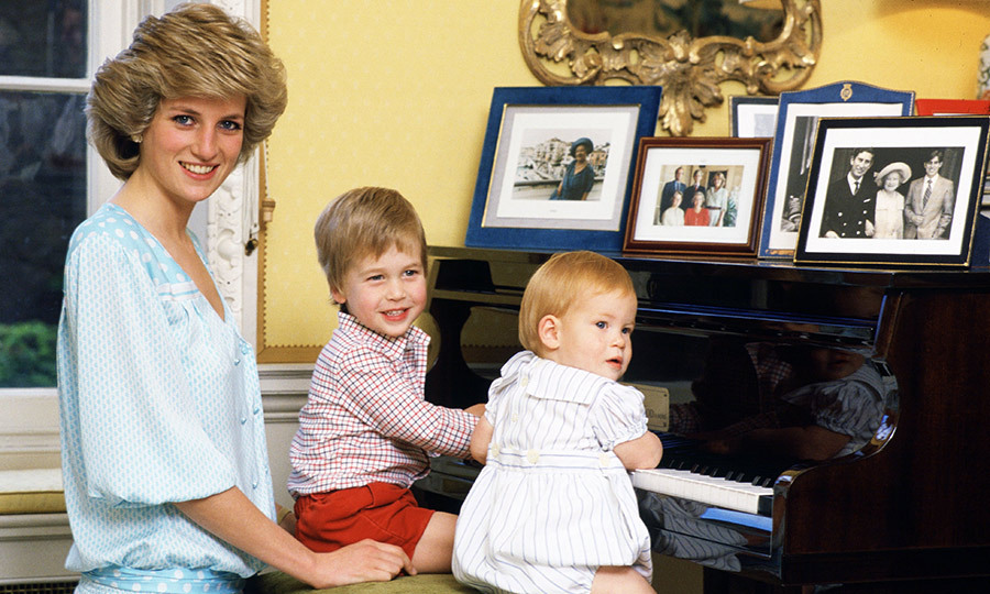 Diana was a devoted mother to her two children, Prince William and Prince Harry.