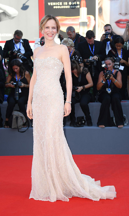 Festival hostess Sonia Bergamasco