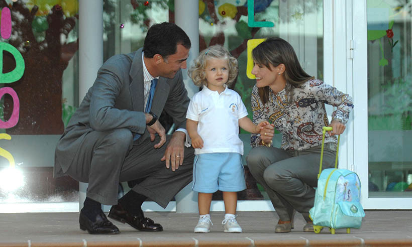 <h2>Princess Leonor, 2007</h2>