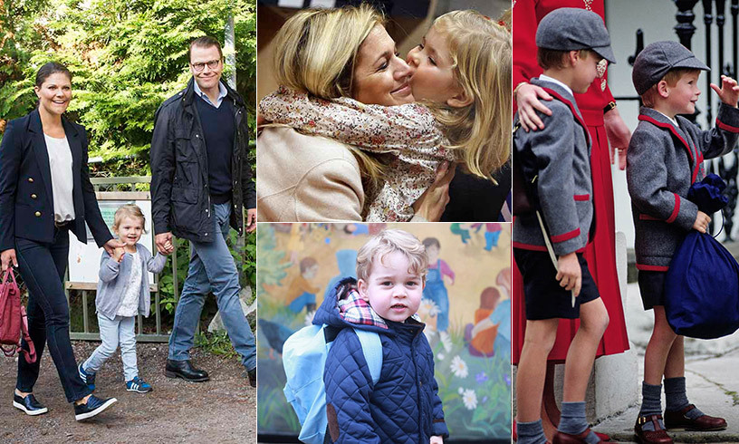 "<p>From <strong><a href=""/tags/0/prince-george"">Prince George</a></strong>'s surprise debut at nursery school to <strong><A href=""/tags/0/prince-william"">Prince William</a></strong> and <strong><a href=""/tags/0/prince-harry"">Prince Harry</a></strong>'s twinning moment and <strong><a href=""/tags/0/princess-charlotte"">Princess Charlotte</a></strong>'s confident school debut, royal youngsters have always scored an A+ in making memorable entrances on their first day of classes. 