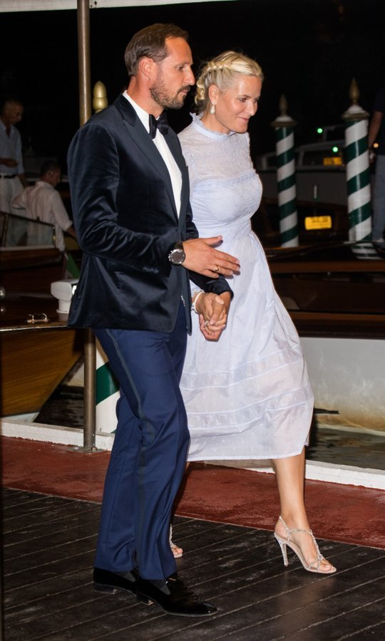 Crown Prince Haakon and Princess Mette-Marit