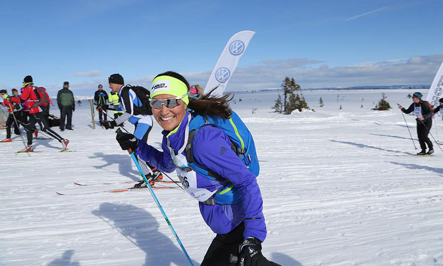 <p>Kate's younger sister showed off her skills in March 2016 when she completed the 54km (33-mile) Birkebeiner cross-country ski race in Norway. Speaking exclusively to <em>Hello!</em> she revealed that before such a tough race she switches up her already healthy diet.