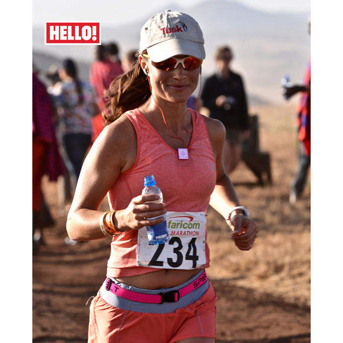 "<p>In July 2015, Pippa marked another milestone in her already impressive list of achievements as she completed her first ever marathon, choosing the 42km Tusk Trust's Safaricom Marathon in Kenya to make her debut. ""I decided that a marathon was a 'life box' that needed ticking and this year was my time,"" she wrote exclusively for <em>Hello!</em> at the time. ""Despite it being one of the toughest in the world, with temperatures rising to more than 30ºC, at an altitude of 5,550ft and with the possibility of bumping into lions or rhinos.""