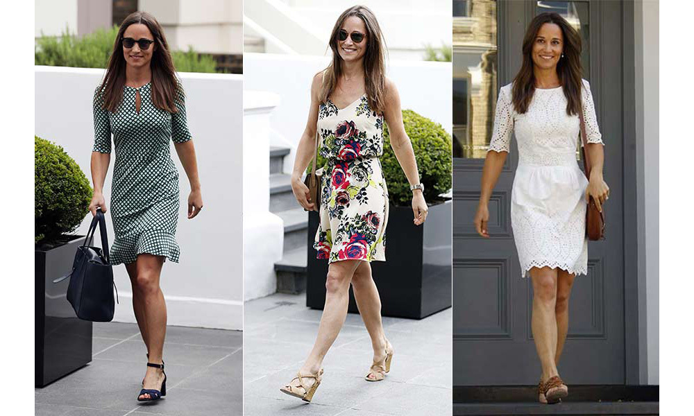<p>Pippa Middleton has enjoyed an incredible year that has seen her announce her engagement to hedge fund manager James Matthews - and has been stepping out in a number of stylish outfits to complement her stunning vintage diamond engagement ring.