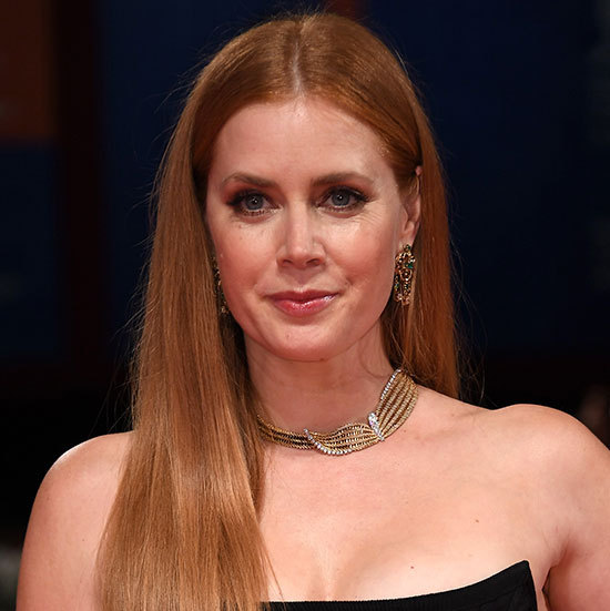 Amy Adams had us reaching for the straighteners when she stepped out rocking this super sleek, poker straight hairstyle, teamed with smokey eye make-up for ultimate wow factor. 