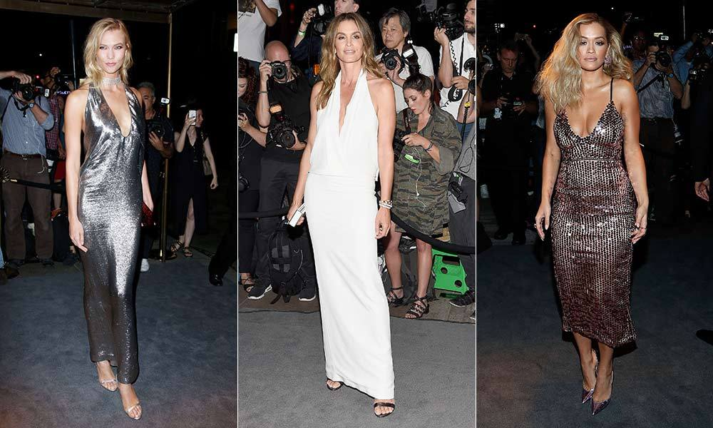 <p> Stars from the worlds of fashion, film and music gathered to attend the Tom Ford show at New York Fashion Week on Wednesday evening (Sept. 7), and the designer's glitzy wares did not disappoint. Cindy Crawford, Karlie Kloss and Zayn Malik were among the A-list attendees. 