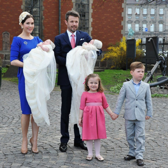 <h3>Princess Josephine and Prince Vincent of Denmark