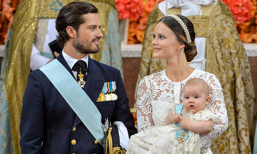 All eyes were on Prince Alexander of Sweden on Friday (Sept. 9) as the royal baby was christened during a moving service at Drottningholm Palace Church.  