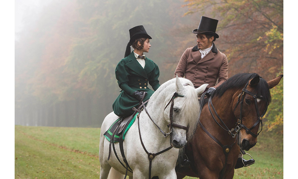 Rufus said his main challenge was the horse riding scenes.