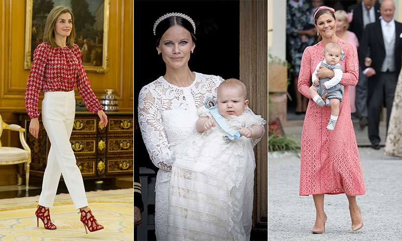 From the Swedish christening, where soft lace and florals were the order of the day, to the Venice Film Festival and the Scottish highlands, royals celebrated the end of summer in their ensembles this week. Click through our gallery to see the best looks...