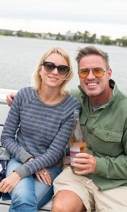 Before touching down in Canada to premiere her film <i>The Bleeder</i> at the Toronto International Film Festival, Naomi Watts supported her brother Ben at the second annual Ben Watts Aussie BBQ with Ray Ban in New York. 