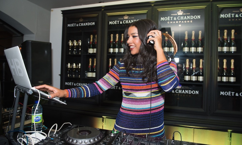 Maison Moet took over La Maquette on King St., where famed DJ Hannah Bronfman spun late into the night.