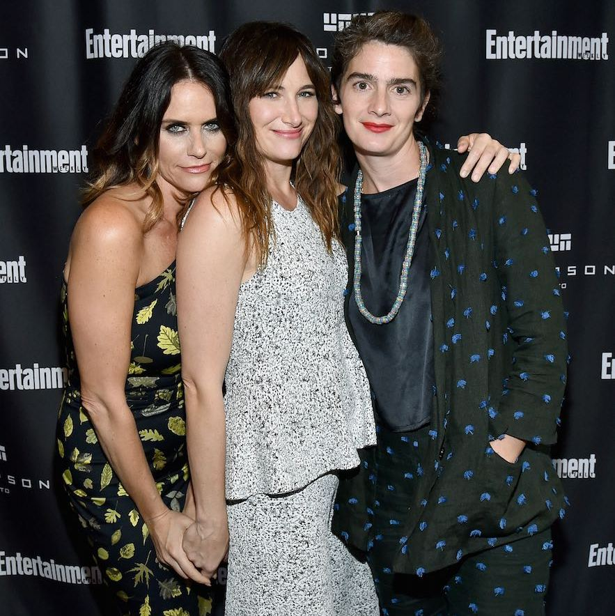 Amy Landecker, Kathryn Hahn and Gaby Hoffmann hung out at Entertainment Weekly's Toronto Must List party at the Thompson Toronto.