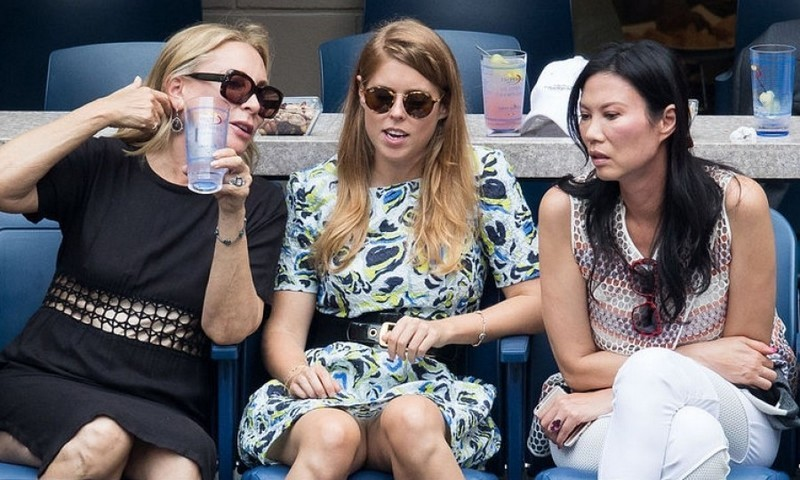 New Yorker Princess Beatrice ventured to Queens to watch some tennis.