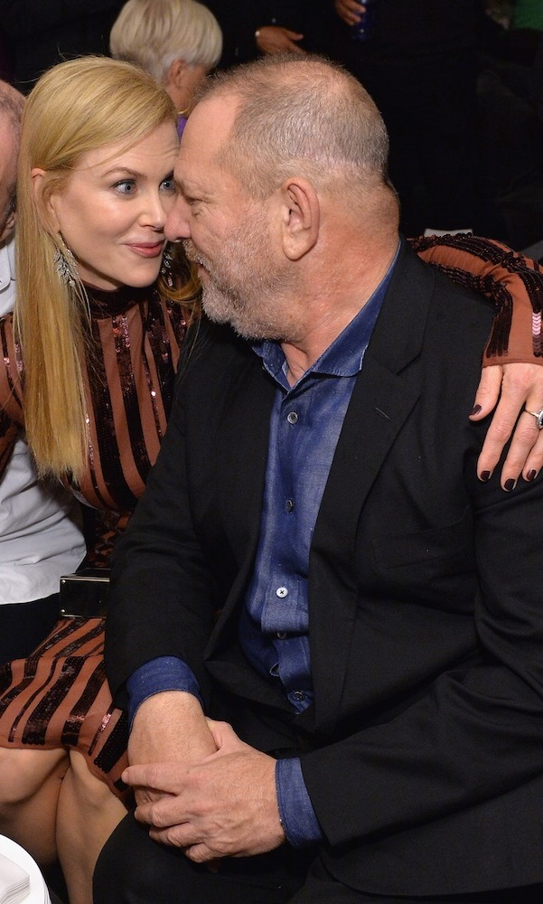 Longtime collaborators Nicole Kidman and Producer Harvey Weinstein shared an intimate moment at Grey Goose Soho House as they toasted their latest, <em>Lion</em>.