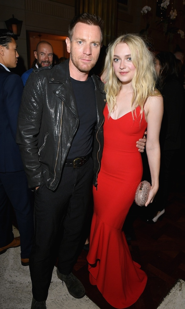 <em>American Pastoral</em>'s Ewan McGregor and Dakota Fanning spent some quality time at the InStyle soiree. 