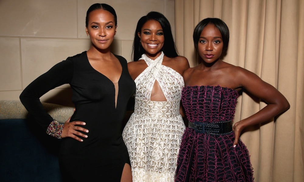 Corbin Reid, Gabrielle Union and Aja Naomi King made a stunning trio at the InStyle 'do.