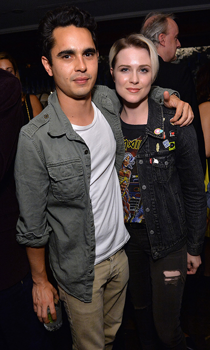 Max Minghella and Evan Rachel Wood