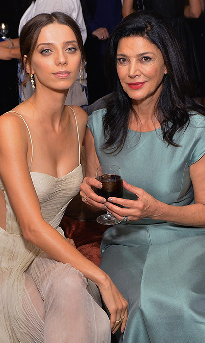 Angela Sarafyan and Shohreh Aghdashloo