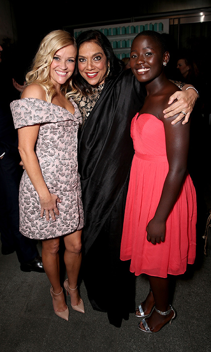 Reese Witherspoon, Mira Nair and Madina Nalwanga
