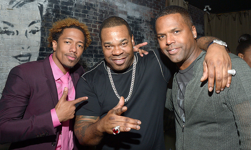 Nick Cannon, Busta Rhymes and AJ Calloway