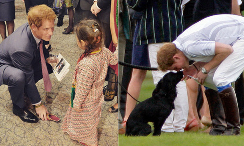 His nephew Prince George may have been dubbed the Prince of Cuteness, but it's safe to say that Prince Harry owns the title of Prince Charming. The Queen's grandson has the ability to make friends wherever he goes and isn't afraid to show off his sweet and sensitive side. 