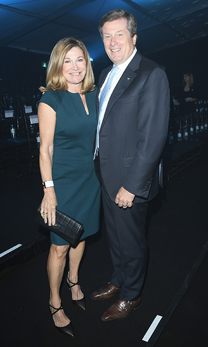 Barbara Hackett and John Tory