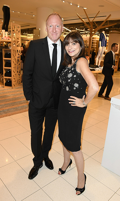 Glen Baxter and Jeanne Beker