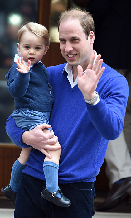 Prince William opens up about Prince George and Princess Charlotte.