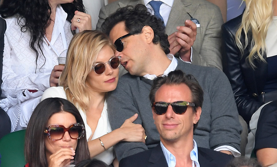 Their appearance comes after Sienna, 34, and Bennett, 49, also attended Wimbledon in July.