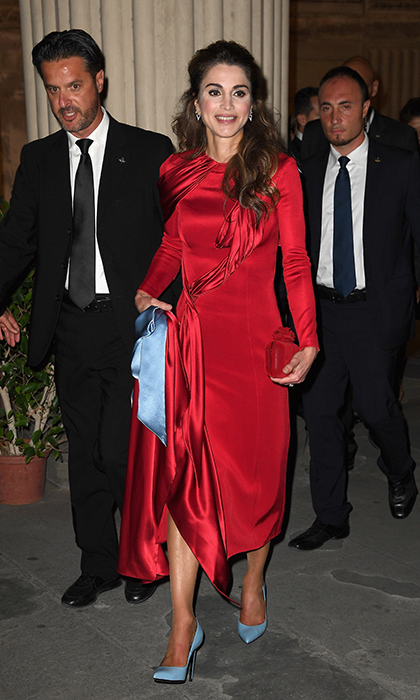 Queen Rania of Jordan.