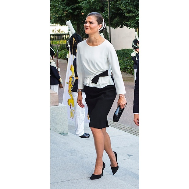 Crown Princess Victoria of Sweden.