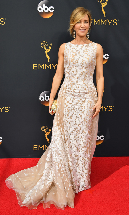 Felicity Huffman in Tony Ward Couture. 