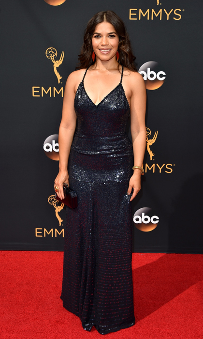 America Ferrera in Jenny Packham. 