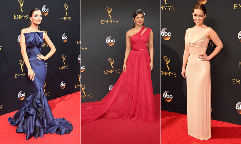 Click through for all the looks from the Emmys red carpet...