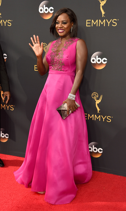 Viola Davis in Marchesa. 