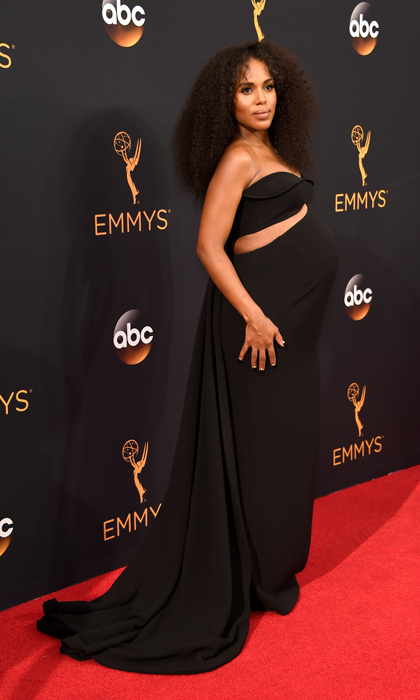 Kerry Washington in Brandon Maxwell. 