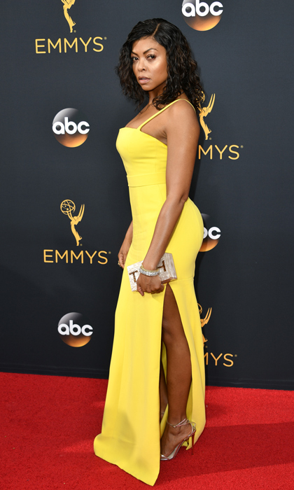 Taraji P. Henson in Vera Wang. 