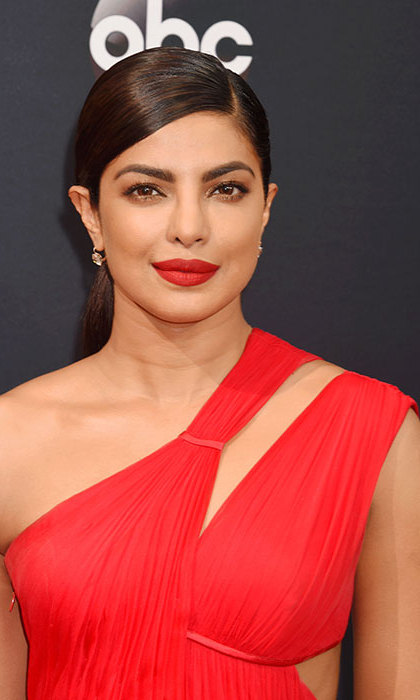 Priyanka Chopra topped best beauty lists thanks to this gorgeous look, which matched a statement red lipstick to her show-stopping gown. 