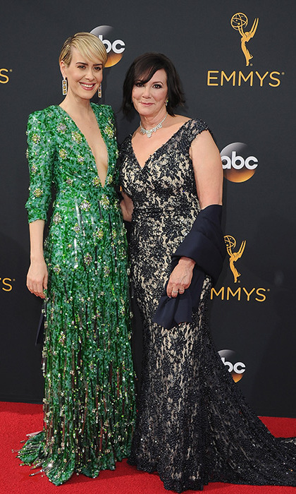 Sarah Paulson took home her very first Emmy for her portrayal of Marcia Clark in <em>The People v OJ Simpson</em> on Sunday. The actress, who brought Marcia along as her plus-one for the ceremony, dedicated her award to the famous lawyer.