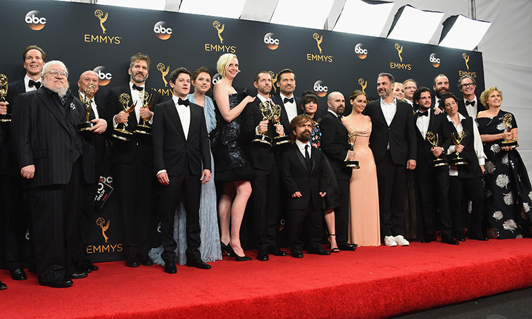 It was a big night for <em>Game of Thrones</em>. After winning three awards on Sunday night, the HBO show pushed its total number of Emmys to 38 – one more than Frasier – setting the record for most statues ever won by a primetime programme.