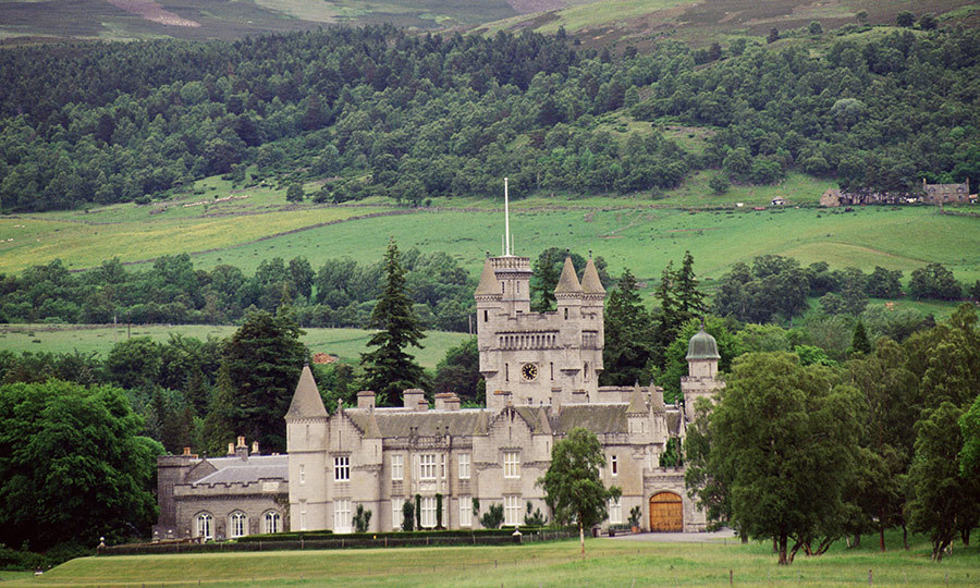 The Prince hosted a shooting party at Balmoral.