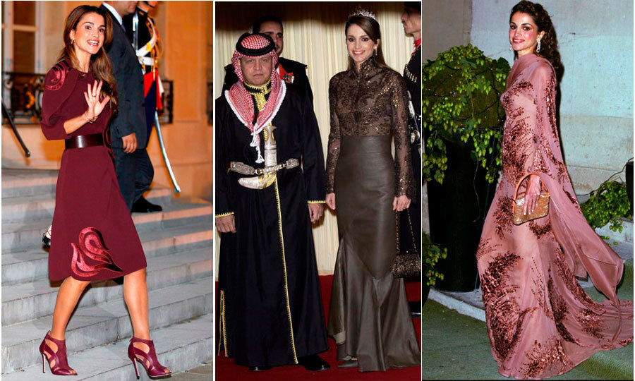 <h3>Queen Rania of Jordan - Elie Saab