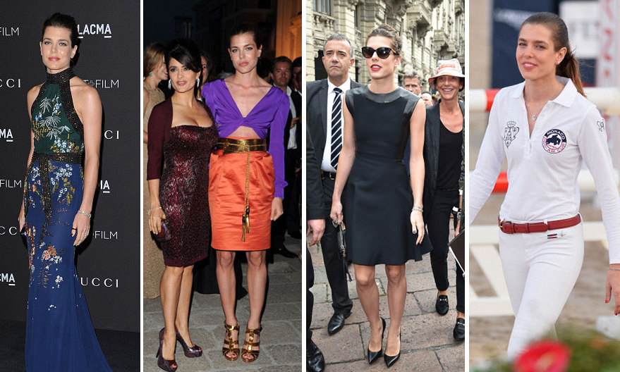 <h3>Charlotte Casiraghi - Gucci