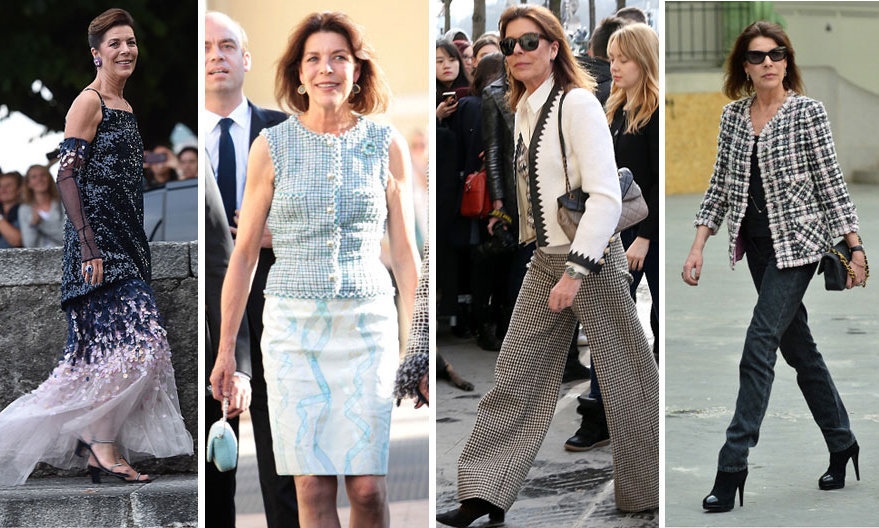<h3>Princess Caroline of Hanover - Chanel