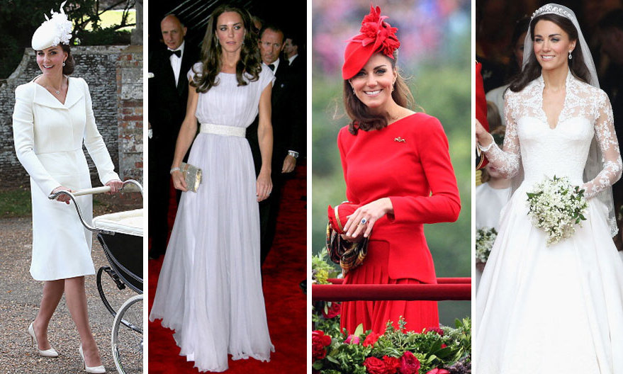 <h3>Duchess Kate - Alexander McQueen