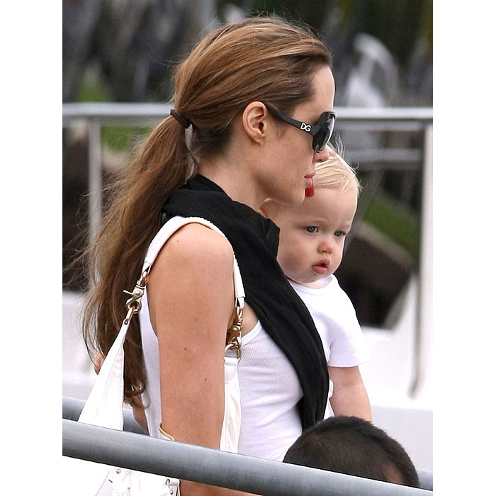 Brad and Angelina's daughter Shiloh Nouvel was born in May 2006.