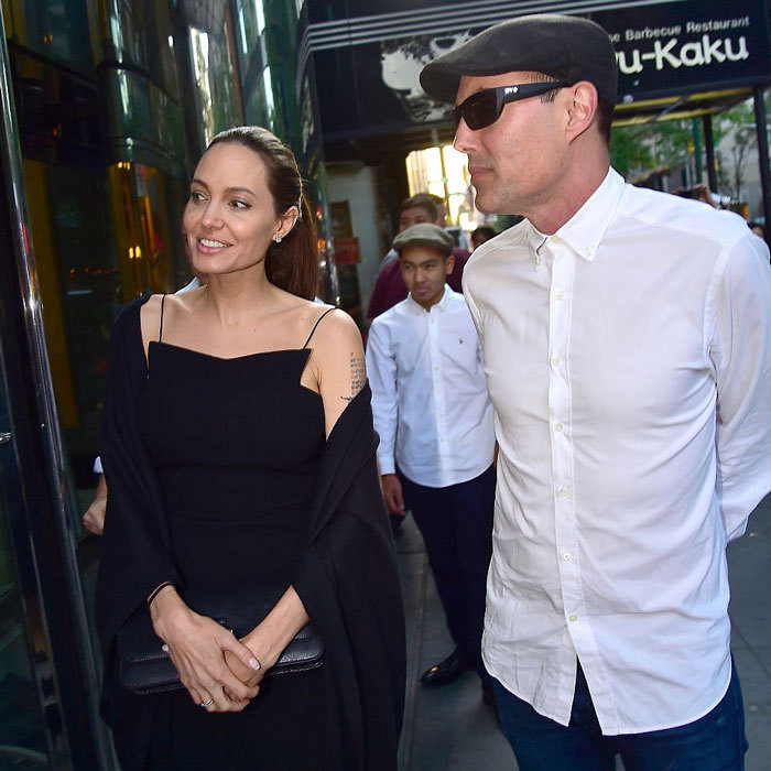 Following the show, Angelina and her eldest son were photographed out at dinner with her brother James Haven in NYC.